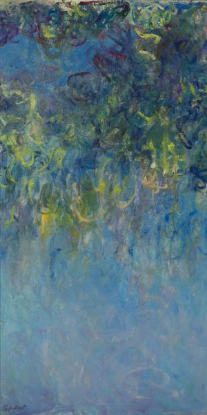 "'Wisteria,' to be shown in 'Monet -The Garden Paintings,"" in fall 2019 at the Gemeentemuseum in The Hague."