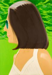 Alex Katz, Ada in Spain, 2018.  Archival pigment inks on Crane Museo Max 365 gsm fine art paper.  Edition of 150, signed and numbered in pencil.  Sheet 46 x 32 in.  Frame 49 5/8 x 35 5/8 in.