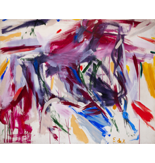Elaine de Kooning (1918-1989), Untitled, circa late 1950s, Oil on Masonite, 48 x 60 inches.  The Estate of a New York Art Dealer.  Est.  $40,000-60,000.  Lot 1044.