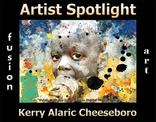 Kerry Alaric Cheeseboro - Artist Spotlight Solo Art Exhibition - October 2020