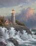 "From Thomas Kinkade's 2004 ""Beacons of Light"" series.  Thomas Kinkade/Andrews McMeel Publishing."