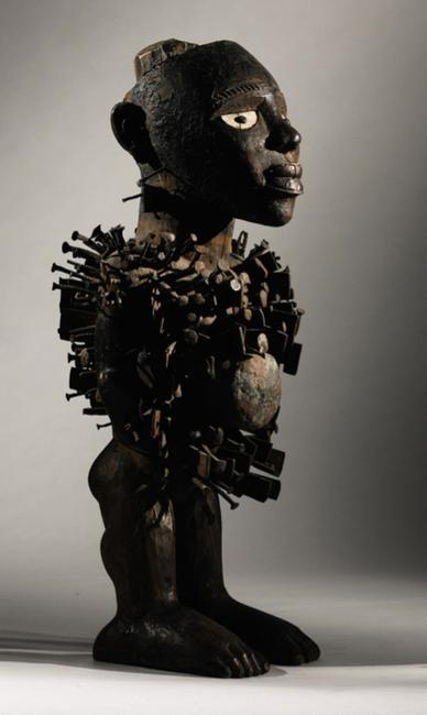 Kongo Figure from the Allan Stone Collection at Sotheby's