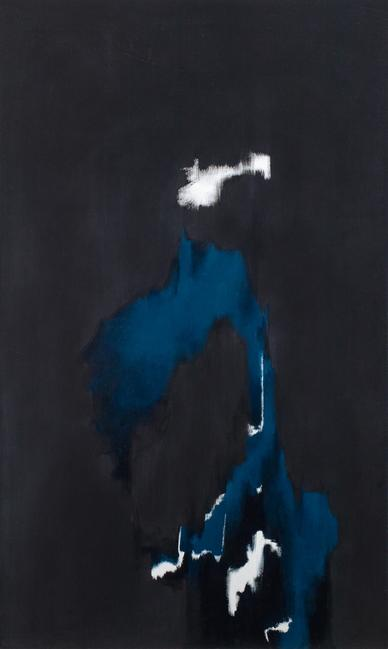 "Norman Lewis (1909–1979), No.  6, 1973, oil on canvas, 80 "" x 47 5/8"", signed"