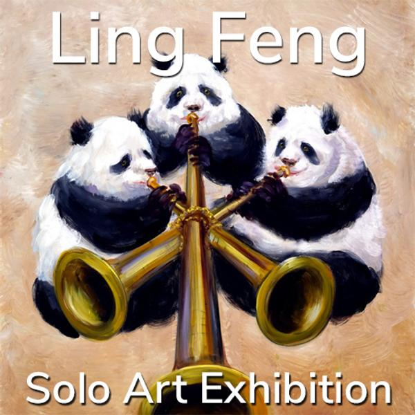 Ling Feng - Solo Art Series Winner www.lightspacetime.art
