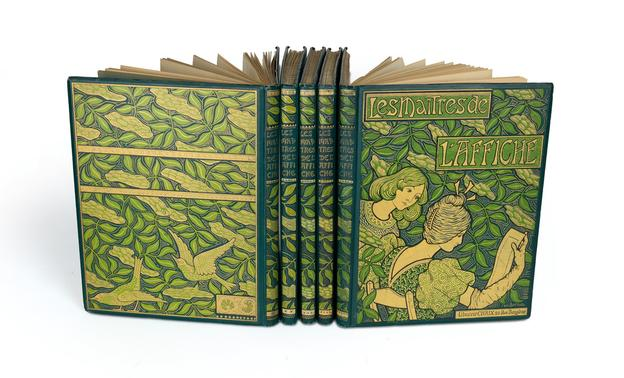 Les Maîtres de l'Affiche, complete set of five volumes, Paris, 1896-1900.  Sold January 26, 2017 for $47,500.