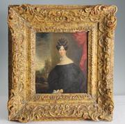 This portrait painting by John Constable (1776-1837) of his sister Mary, done around 1820, sold for $14,400 at Los Angeles Auction House.