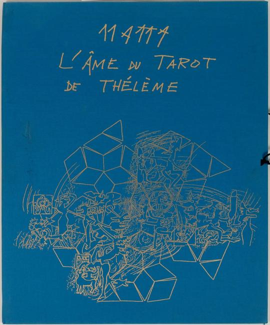 Portfolio of five aquatint etchings by the Chilean architect and painter Roberto Sebastiàn Antonio Matta Echaurren (1911-2002), titled L'ame du Tarot de Theleme, 1994 ($3,750).