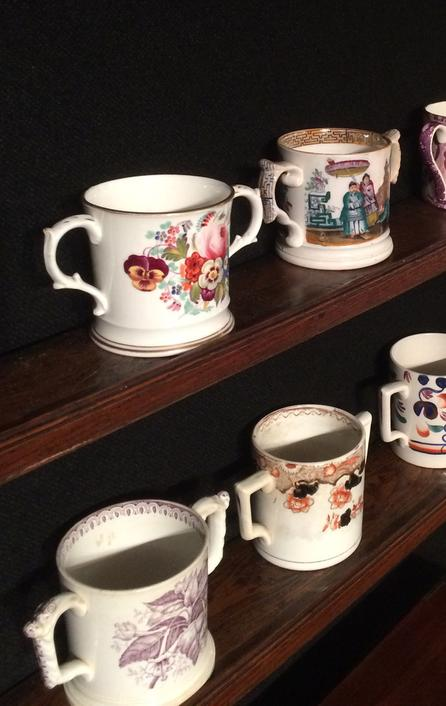Loving cups on Sale at Chester Antiques Show