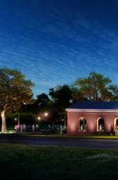 Artist's rendering of the planned South Nassau Street entrance to the expanded Art Museums of Colonial Williamsburg.