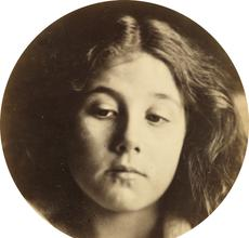 Julia Margaret Cameron, Portrait of Kate Keown, albumen print, 1866.  Estimate $50,000 to $75,000.  At auction October 25.