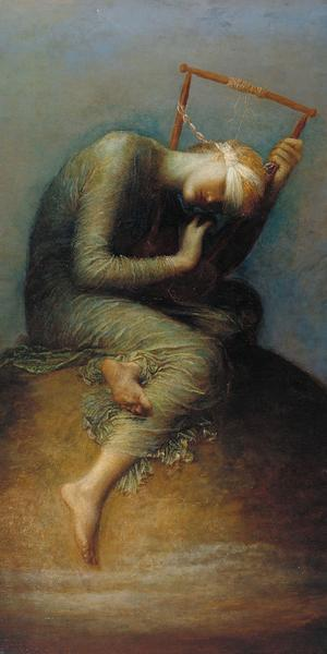 Second version of Hope, 1886, by G.F.  Watts
