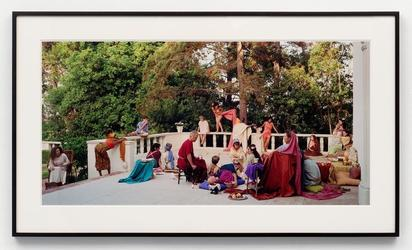 Eleanor ANTIN, The Slave Sale from The Last Days of Pompeii, 2002, Chromogenic print, 51 x 102 cm © Eleanor Antin; Courtesy Richard Saltoun Gallery