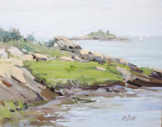 Margaret Dean, Coastal Haze, oil