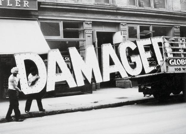 Walker Evans, Truck and Sign, 1928-1930.  Private Collection.