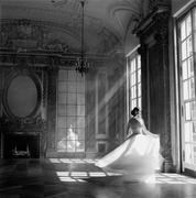 Bernadette Twirling Rodney Smith Archival pigment ink print 45 x 45 inches Gilman Contemporary Ketchum