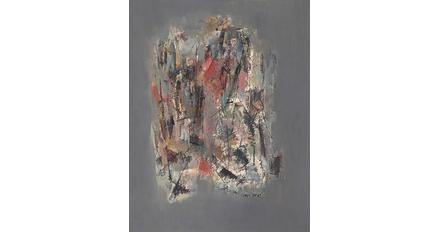 Norman Lewis, Untitled, 1947, oil on masonite, 17 x 14 inches