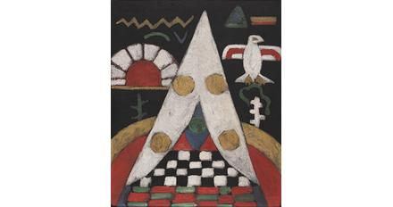 Marsden Hartley, An Abstract Arrangement of Indian Symbols, c.  1914-15.