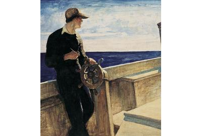 N.C.  Wyeth, Eight Bells, 1937.  Bank of America Collection.