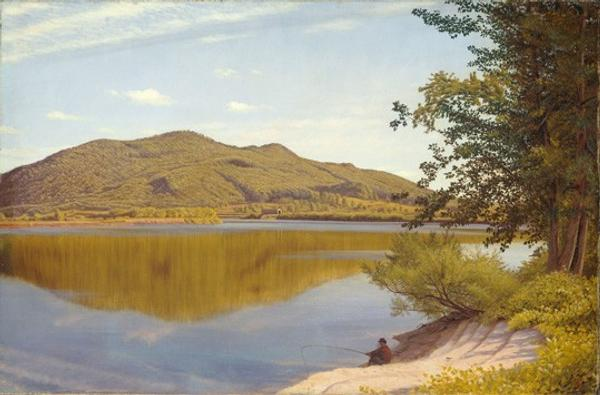 Thomas Charles Farrer, Mount Tom, 1865, oil on canvas, National Gallery of Art, Washington, John Wilmerding Collection, Promised Gift