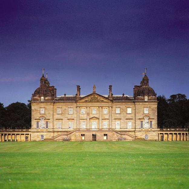 Exterior view of Houghton Hall, Norfolk, England.  Photo by Nick McCann