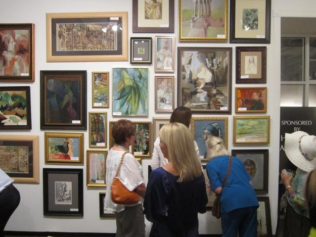 The Show and Sale of Early Texas Art will be back at the Fort Worth Community Arts Center August 8-9, 2014.