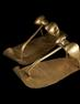 Tutankhamun's golden sandals are among the Egyptian treasures on view at the Denver Art Museum beginning June 29.  © Sandro Vannini .