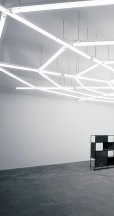 Martin Boyce, When Now Is Night, 2002.  Photo: Photographic Services.  Courtesy of the Artist and The Modern Institute/Toby Webster Ltd, Glasgow; Galerie Eva Presenhuber, Zürich; Johnen Galerie, Berlin; and Tanya Bonakdar Gallery, New York