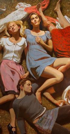 """""""School of the Americas"""" by Bo Bartlett is included """"The Things We Carry"""" at the Gibbes Museum."""