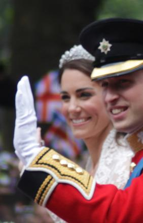 After the wedding of Prince William, Duke of Cambridge, and Catherine Middleton, 2011.