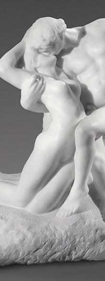 Auguste Rodin, L'Éternel Printemps, 1901–1903.  Sold for $20,410,000.