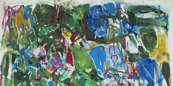 Joan Mitchell.  My Landscape II.  1967.  Collection of Smithsonian American Art Museum.  © Estate of Joan Mitchell