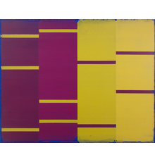 Steven Alexander Nomad 5, 2020 Oil and acrylic on canvas 40 x 50 inches Signed and titled on the verso