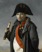 Napoleon before the Battle of Moscow by Joseph Franque.  Circa 1812