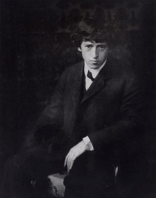 John Marin, ca.  1908.  Photographer unknown.  Used by permission of the Estate of John Marin.