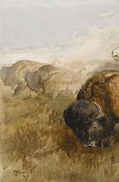 "C.  M.  Russell ""The Chase"" (est.  $250,000-350,000)"