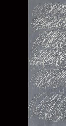 "Cy Twombly's ""Untitled (New York City)"" brought a record $70.5 million at Sotheby's."