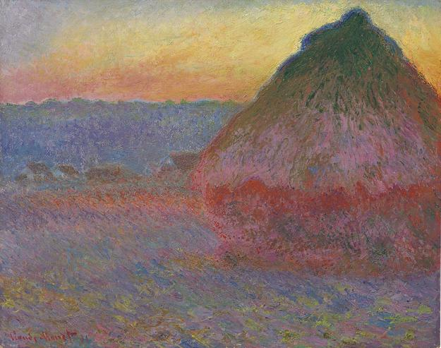 Monet's Grainstack painting sold for $81,447,500