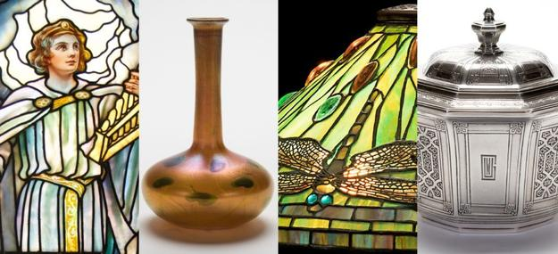 Tiffany in New London explores the life and career of artist, designer, and glassmaker Louis Comfort Tiffany through the lens of New London, Conn., focusing on the artist's unique connections to the region.