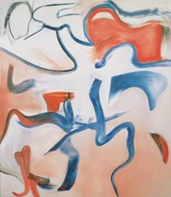Untitled XVI by Willem de Kooning (1904-1997), new exhibitor L&M Arts.