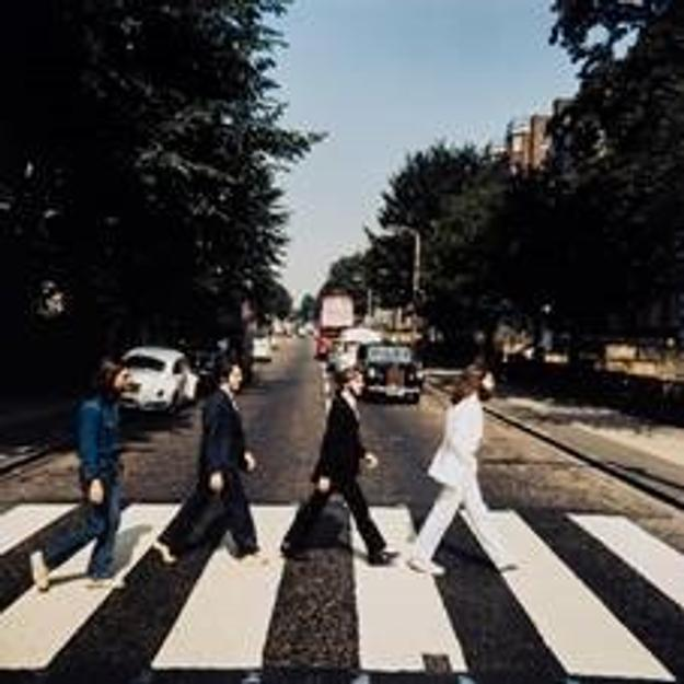 The Beatles Abbey Road album sold for £180,000 in London on Nov.  24, 2014.