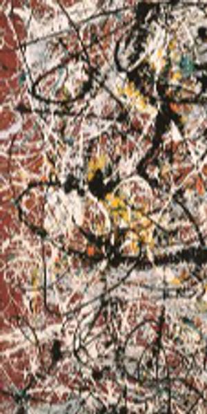 Jackson Pollock's 'Mural on Indian Red Ground.'