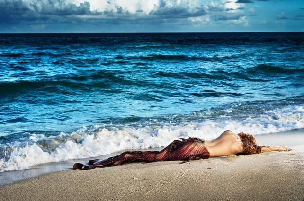 David Drebin (B.  1970 - ), Mermaid in Paradise I, 2014, Digital C Print.