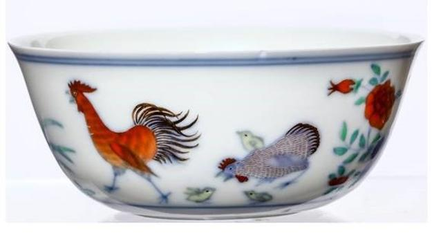 Qing Dynasty Imperial 'chicken' Cup not seen on the market for fifty years will go under the hammer at Chiswick Auctions in November.