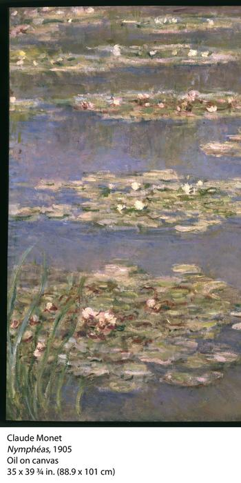 Nymphéas (c.  1905) by Claude Monet.
