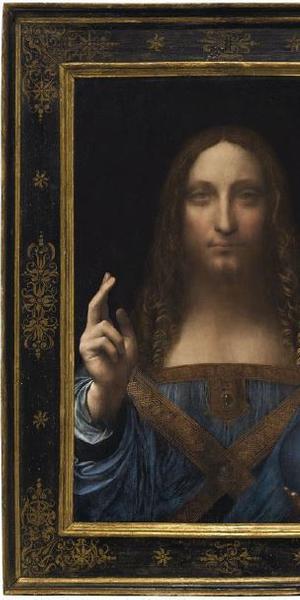 'Salvator Mundi' or 'Saviour of the World' by Leonardo da Vinci