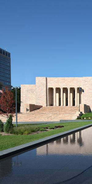 Joslyn Art Museum as it appears today.