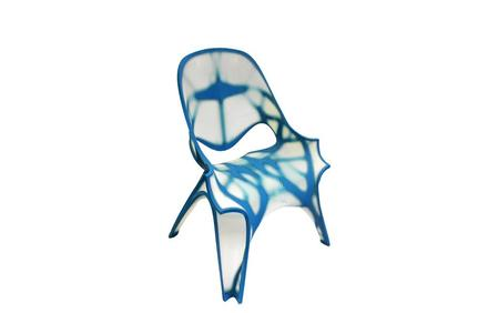 CHAIR by Zaha Hadid in collaboration with STRATASYS, 3D printed on a Stratasys Objet1000™ Multi-material 3D Printer