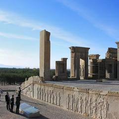 Ruins of the Tachara, Persepolis