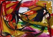 Elaine de Kooning (1918-1989) Farol, 1958 Oil on canvas 54 x 77 inches (137.16 x 195.58 cm) Collection of The Mint Museum, Charlotte, North Carolina Image, Courtesy of Levis Fine Art Copyright Elaine de Kooning Trust