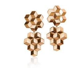Paolo Costagli, New York, 18kt Rose Gold Brillante® Earrings.  Asking bid: $2,725